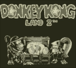 Donkey Kong Land 2 - Title Screen