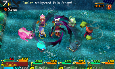 Etrian Mystery Dungeon Hexer 2