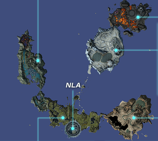 Xenoblade Chronicles X World 1