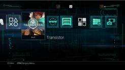 Transistor PS4 Theme   oprainfall