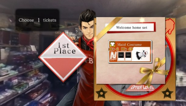 Tokyo Twilight Ghost Hunters | prize