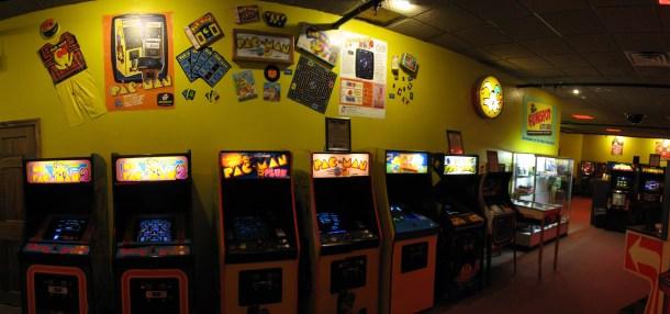 Funspot | PacMan Wall