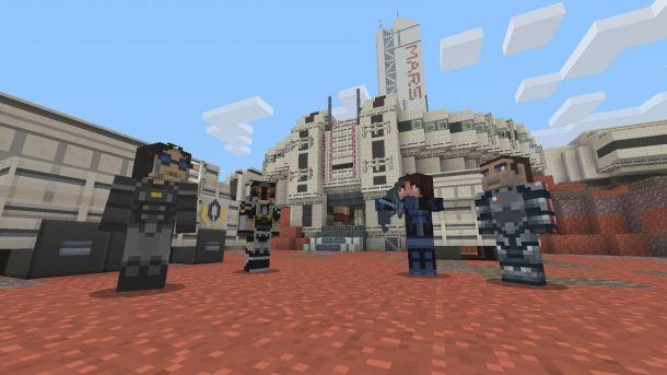 Minecraft | Mass Effect Costumes