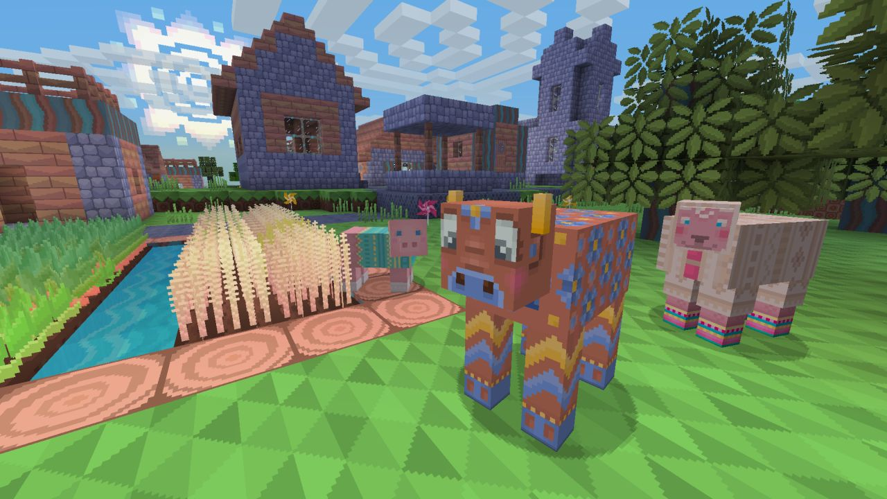 Ps3 Ps4 And Ps Vita Get New Minecraft Dlc