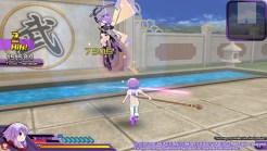 Neptunia Action Unleashed Neptune vs Purple Heart