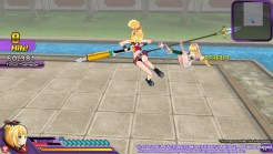 Neptunia Action Unleashed Vert Flying