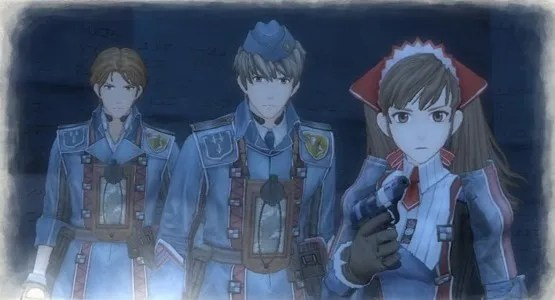 Building Character | Valkyria Chronicles - Welkin, Faldio and Alicia
