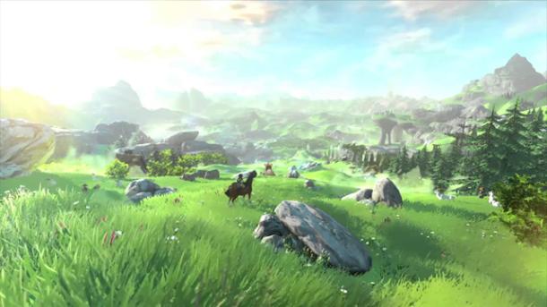 The Legend of Zelda for Wii U | Grass Field Screenshot
