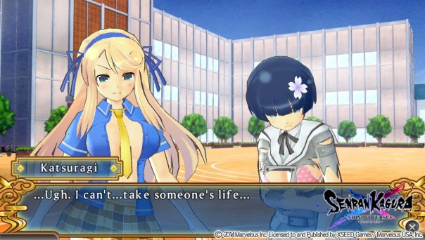 What is Senran Kagura?   Conflicted