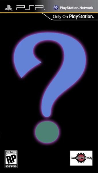 Gaijinworks Mystery PSP Game - Teaser Image