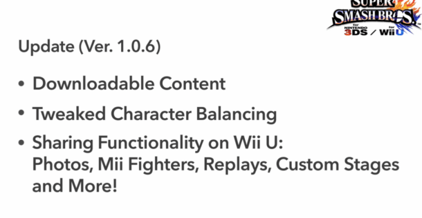 Super Smash Bros. | Version 1.0.6