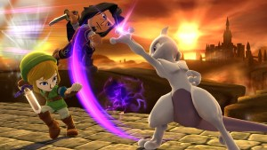 Super Smash Bros. - Mewtwo and Mii Fighters 01