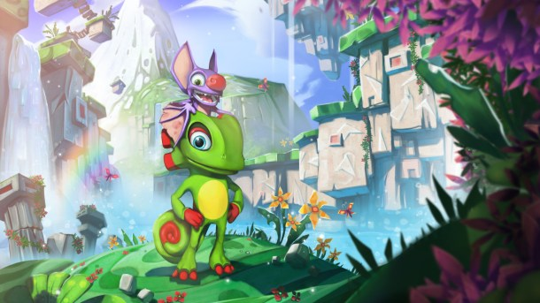 Yooka-Laylee Artwork