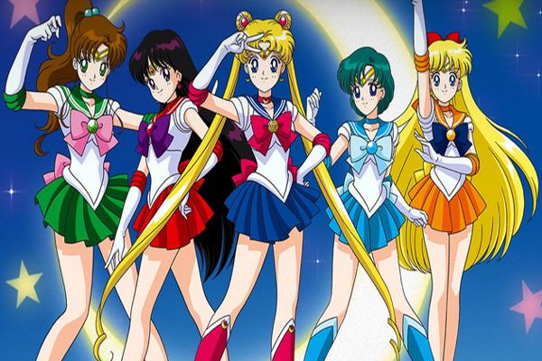 Sailor Moon Team | oprainfall