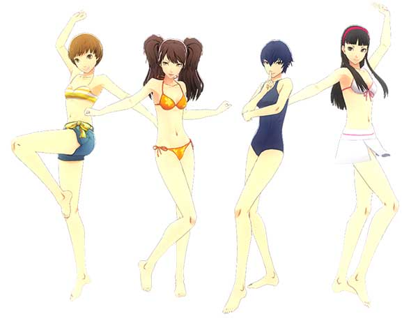 Persona 4: Dancing All Night - Swimsuit DLC