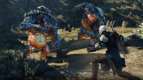 Witcher 3 | Troll Combat