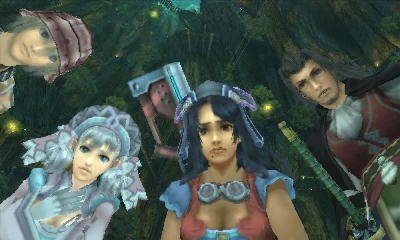 Xenoblade Chronicles | The Party
