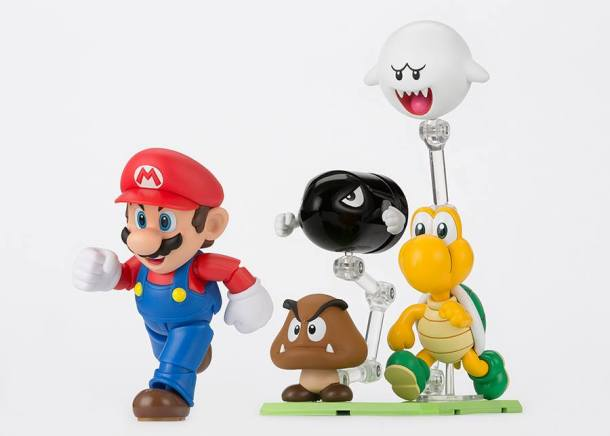 running Mario
