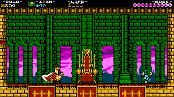 Shovel Knight I Golden Throne