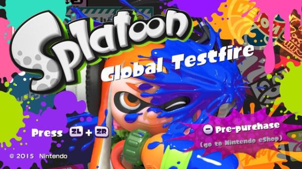 Splatoon Global Testfire | oprainfall