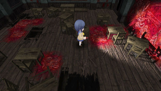Corpse Party: Blood Drive | Fleshy Stains