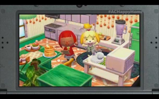 E3 2015 Nintendo - Animal Crossing Happy Home Designer 6