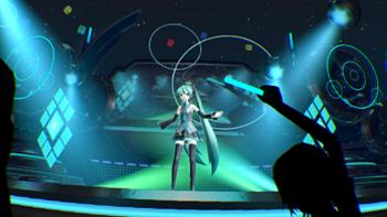 Hatsune Miku VR Tech Demo