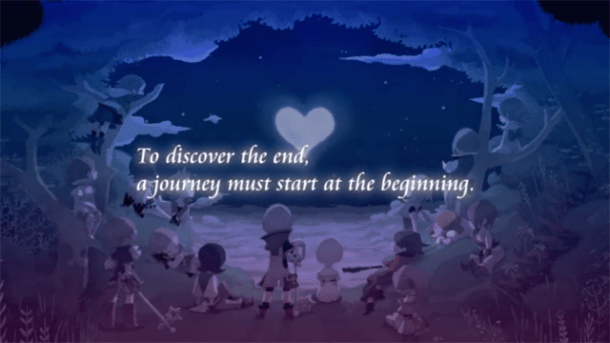Kingdom Hearts Unchained Key | Intro
