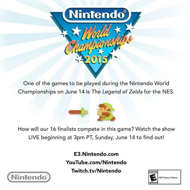 Zelda Nintendo World Championships 2015