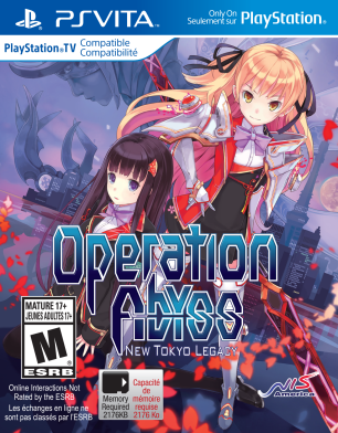 Operation Abyss: New Tokyo Legacy | Cover Art