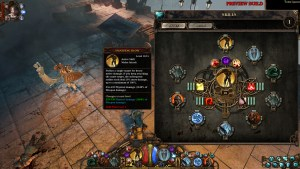 The Incredible Adventures of Van Helsing III | Skill Menu
