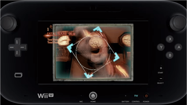 Fatal Frame: Maiden of Black Water - GamePad