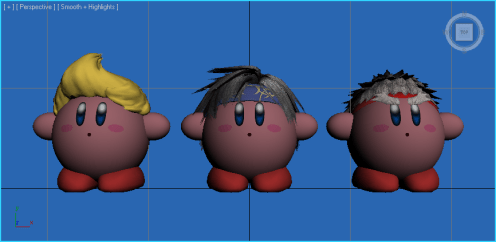 Super Smash Bros. - Kirby Copying New Fighters