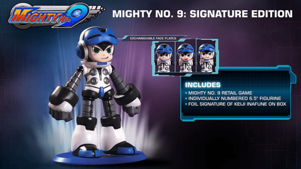 Mighty No. 9 | Beck statue