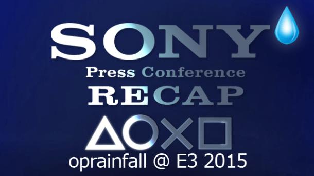 E3 2015 |  Sony PlayStation Recap