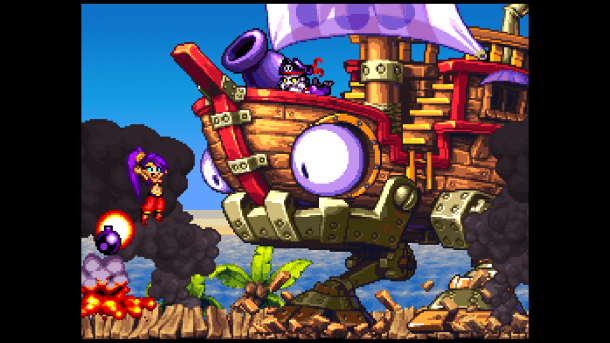 Shantae: Risky's Revenge | Facing off Against Risky Boots