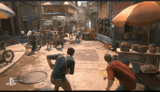 E3 2015 Sony PlayStation | Uncharted 4