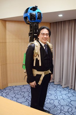 Iwata - Strapped to Camera