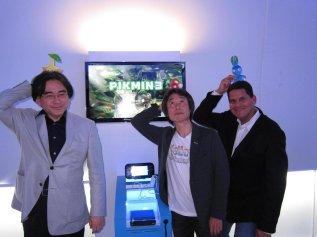 Iwata - With Reggie, Miyamoto, and Pikmin