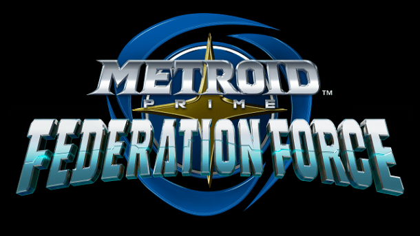 Metroid Prime Federation Force - Logo