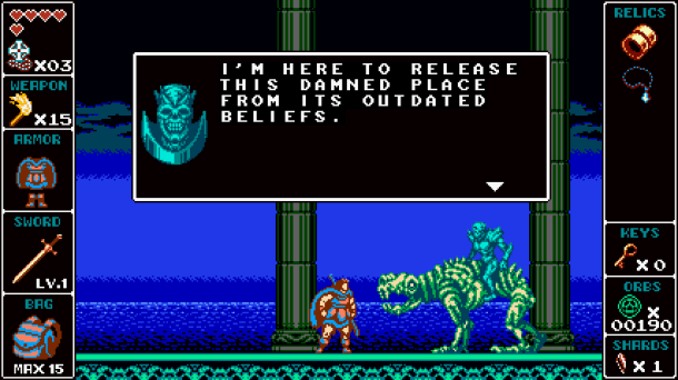 Odallus | Bony Boss Battle