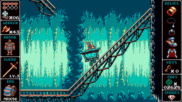 Odallus | Mine Carts