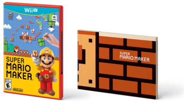 Super Mario Maker Case and Booklet
