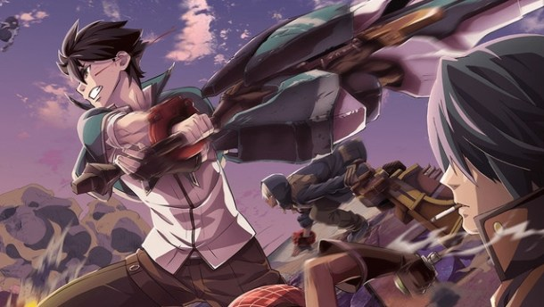 God Eater anime promo image