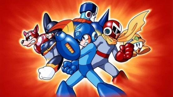 Mega Man 8 Promo art