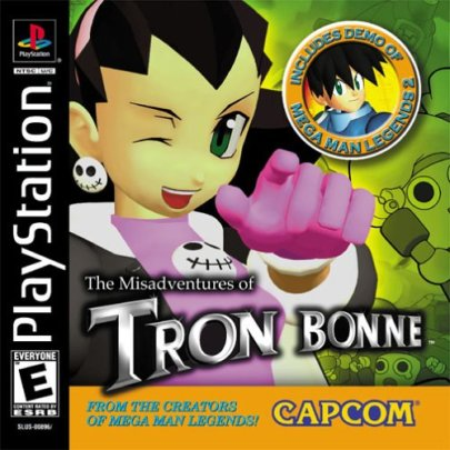 Misadventures of Tron Bonne | Box Art