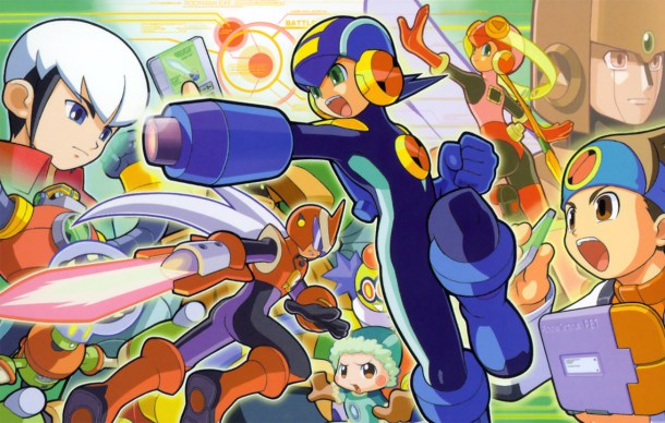 Rockman Exe boxart | The Future of Mega Man