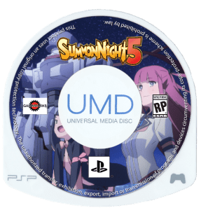 Summon Night 5 - UMD Cover 1
