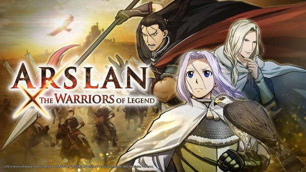 Arslan: The Warriors of Legend | Key Art