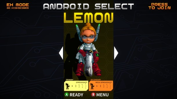 Assault Android Cactus | Character Select